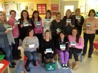 First Aid class with certificates